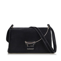 Vintage Gucci Black Pony Hair Natural Material Shoulder Bag Italy - $396.44