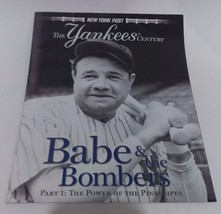 NEW YORK POST--THE YANKEES CENTURY PART 1: THE POWER OF PINSTRIPES (a) - $5.94