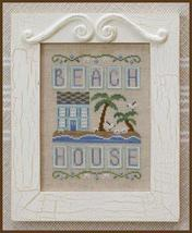 Beach House summer cross stitch chart Country Cottage Needleworks - $7.20