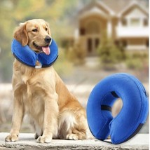Inflatable Soft Protection Collar / Cone - Post Surgical - For Dogs Size... - $12.65