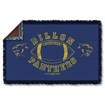 New Authentic Friday Night Lights Dillon Panthers Woven Throw Blanket - €47,88 EUR