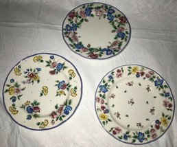 HAZELBURY by Laura Ashley, Small Side Bread and Butter Floral Plates (3) EUC image 2