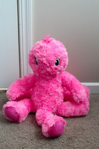 Build a Bear Pink BABW Pink Stuffed Octopus Plush Oodles of Fun Under th... - $14.24
