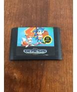 Sega Genesis Sonic The Hedgehog 2 Game Cartridge Retro Vintage - $9.89