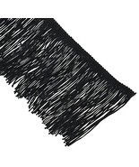 """Expo Chainette Fringe 4"""" Wide 20 Yards-Black - $37.58"""