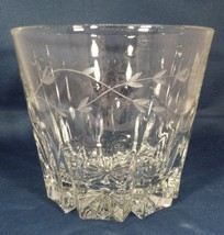 """Ice Bucket Clear Crystal Heavy - Etched Flower Sides 5.5"""" Tall No Damage... - $9.41"""