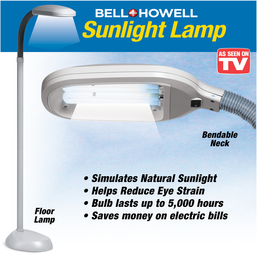 Bell And Howell Sunlight Floor Lamp Lamps