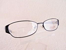 NEW Coach HC 5018  Rose (9077)  Satin Black 53  X 15 135 mm Eyeglass Frame - $42.04