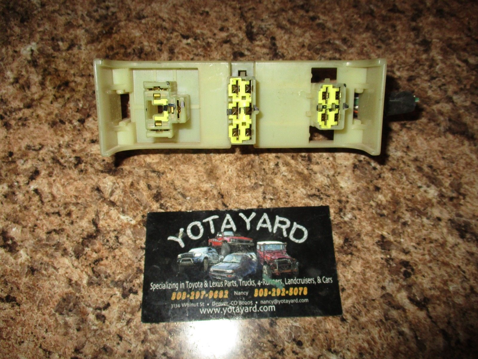 ... Toyota Camry Fuse Relay Block Junction and 11 similar items. S l1600