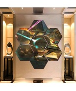 Star Trek Wall Art Painting Canvas Poster Print Home Decor 7 Hexagon Pan... - $94.99+