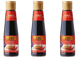 Lee Kum Kee Chili Soy Sauce 7 oz ( Pack of 3 ) - $26.24