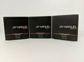 Jay Manuel Beauty Filter Finish Luxe Powder Medium # 1 .28 Oz each Set of 3 - $17.82