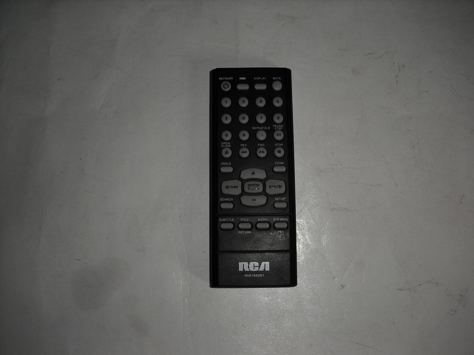 Primary image for rcr198dc1  rca  remote  control