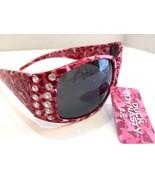 New Duck Dynasty Pink Camoflauge Sunglasses  w Side Rhinestone Accents b... - $19.99