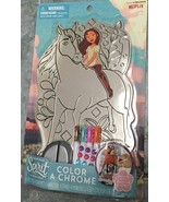 Spirit Riding Free Color A Chrome Art Set Markers Rhinestones new from n... - $23.88