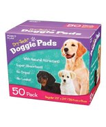 Penn Plax Dog Training Pads, Dry-Tech® Doggie Pee Pads with Natural Attr... - £18.99 GBP
