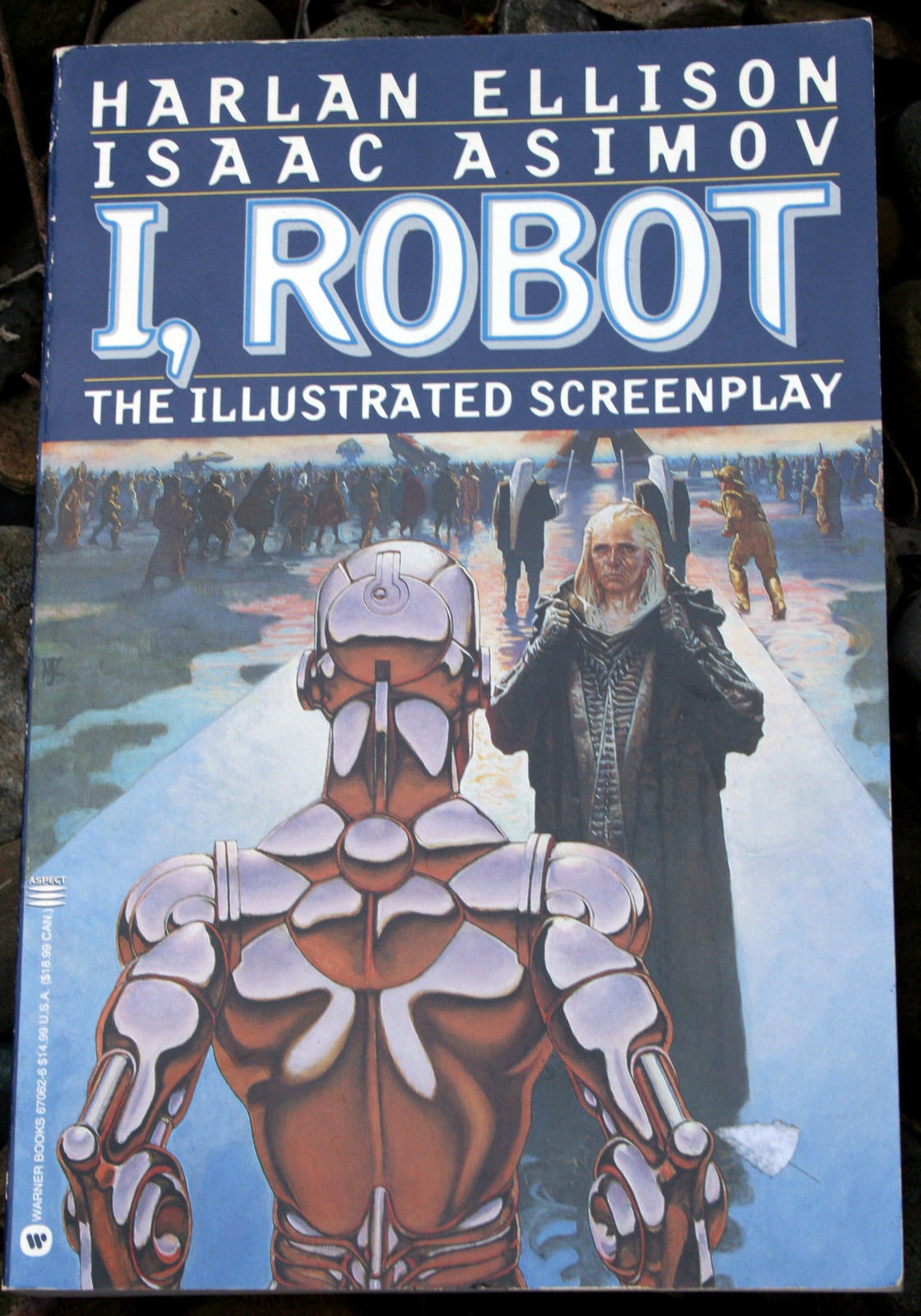 Primary image for i, ROBOT: THE ILLUSTRATED SCREENPLAY Ellison/Asimov 1994 True FP