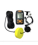 Portable Handheld Fish Finder Remote Fishfinder Wired Sonar Sensor Trans... - $35.00