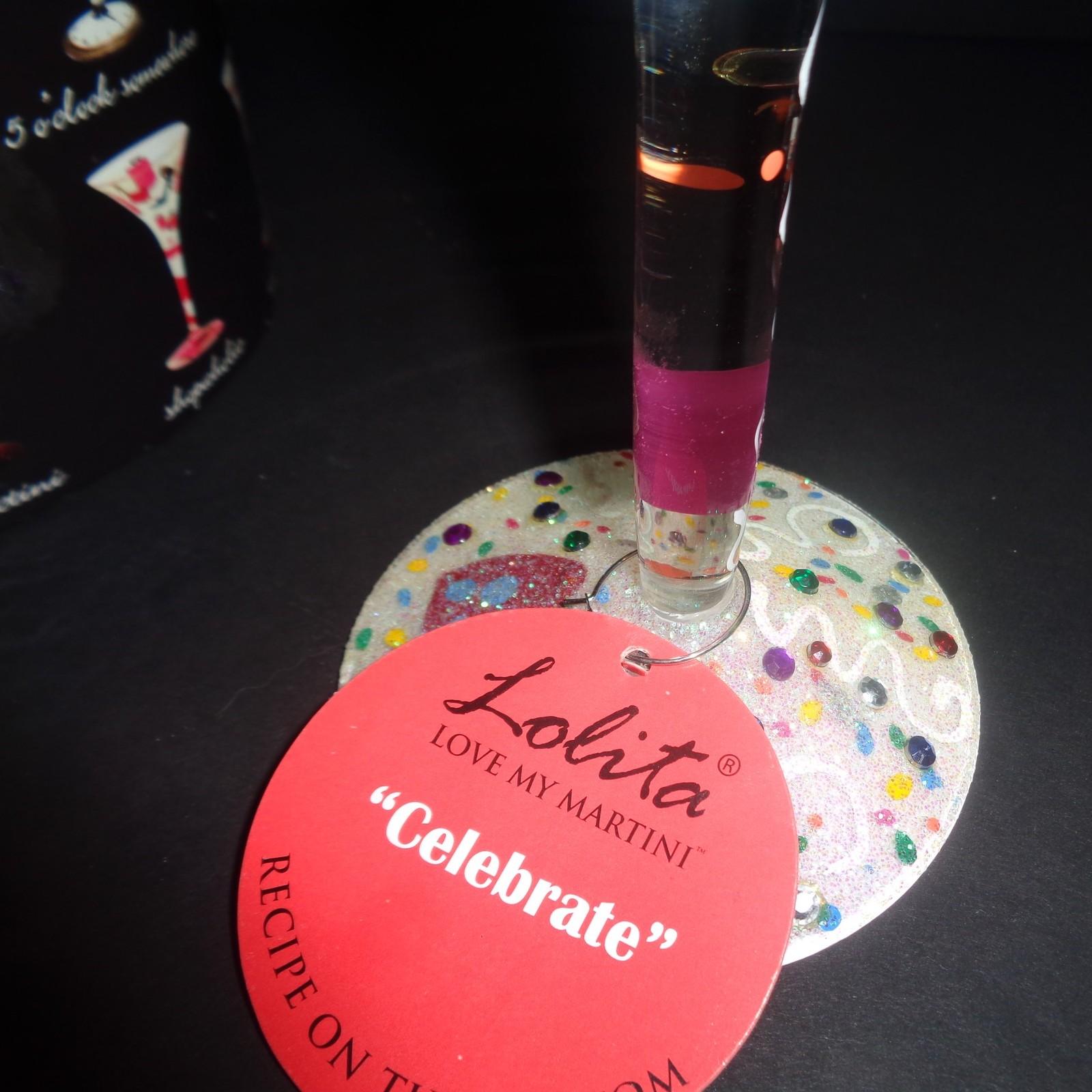 Lolita Celebrate Martini Glass NWT 7 OZ