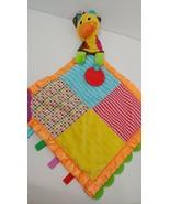 Infantino giraffe Baby Lovey Security Blanket teether crinkle ears hangs... - $6.92