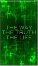 THE WAY TRUTH LIFE Christian Refrigerator Magnet - $1.99+