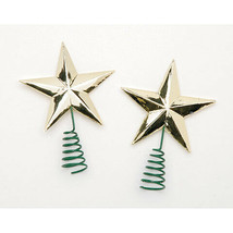 Darice Christmas Star Tree Topper - Small - Gold - 1.5 inches - 2 pieces w - $4.99