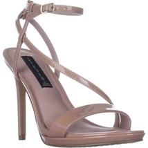 STEVEN Steve Madden Rees Ankle Strap Dress Sandals, Nude Patent, 10 US - $33.59