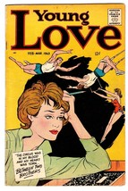 YOUNG LOVE v.6 #5 1963-CLINT EASTWOOD-TRAPEZE COVER-ROMANCE - $62.08