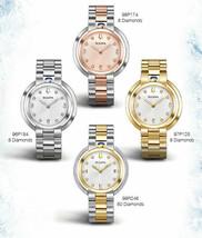 LADIES BULOVA RUBAIYAT MOTHER OF PEARL DIAMOND DIAL (Choose Model) (WARR... - $356.40+
