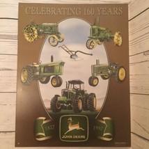CELEBRATING 160 YEARS John Deere 1837 1997 Licensed Metal Product Sign E... - $29.69