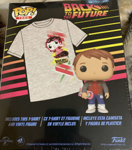 Funko Vinyl Pop Figure & XL Back To The Future Marty McFly T-Shirt - $31.04