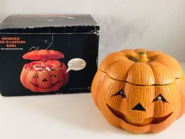 DEPARTMENT 56 ANIMATED JACK-O-LANTERN BOWL WITH MOTION DETECTOR LIGHT SOUND - ₨1,790.14 INR