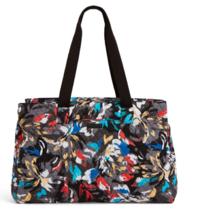 Vera Bradley Iconic Triple Compartment Travel Bag splash floral new nwt - $69.88