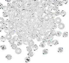 25pcs 3mm SWAROVSKI CRYSTAL FACETED BICONE BEADS - You Choose the Color image 4