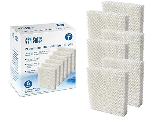 Fette Filter - Humidifier Wicking Filters Compatible with Honeywell HFT600T, HFT