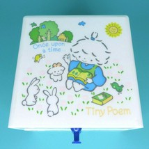 Vintage 1976 Sanrio Tiny Poem Once Upon A Time Plastic Trinket Box Drawe... - $99.95
