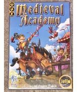 NEW iello MEDIEVAL ACADAMY Boardgame Blue Locker Nicolas Pin in SHRINK W... - $34.25