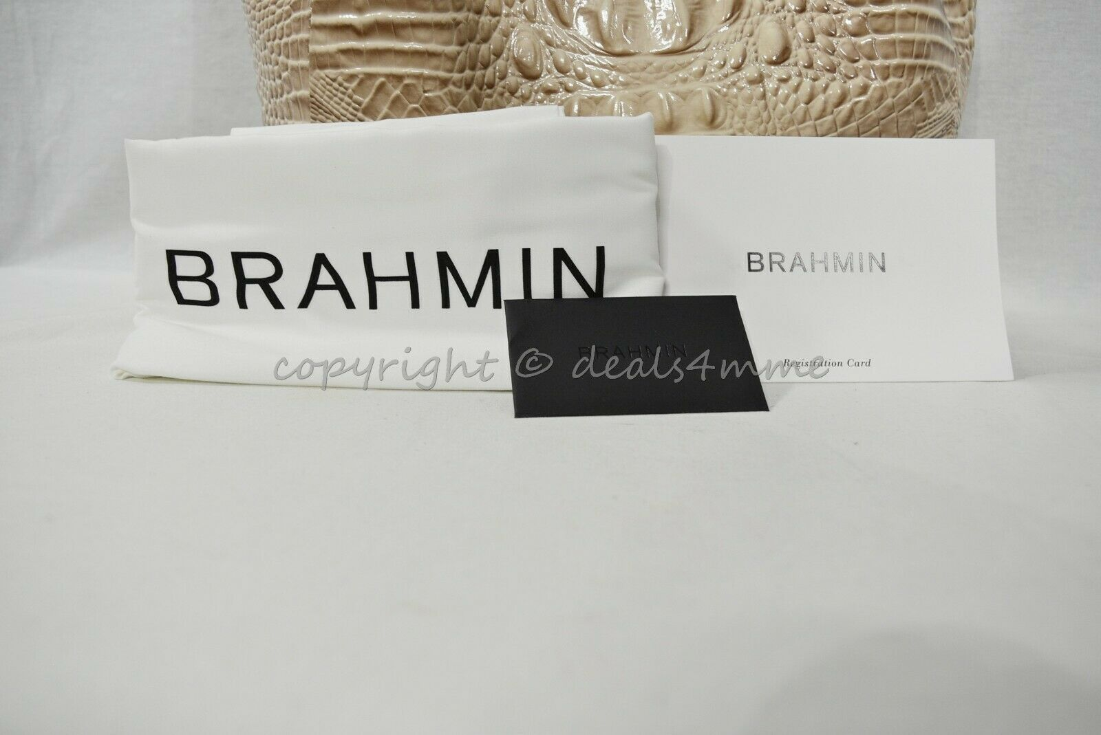 NWT Brahmin Small Mallory Leather Satchel/Shoulder Bag in Blossom Melbourne image 10