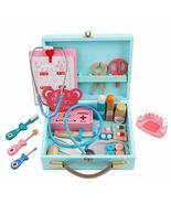 Funny Play Real Life Cosplay Doctor Game Toy Portable Medicine Box Prete... - $59.33
