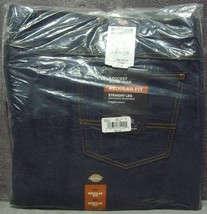 New Sealed +Tags Dickies Mens 5-Pocket Work Jeans Regular Fit Straight L... - $44.99