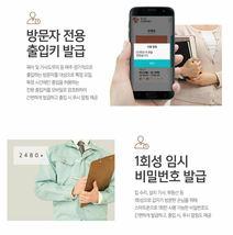 Samsung Push Pull Door Lock SHP-DR700  Wi-Fi Digital Doorlock 2 Card Keys Pin image 8