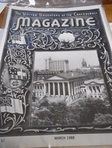 Great Collectible THE UNITED DAUGHTERS OF THE CONFEDERACY Magazine March... - $8.50