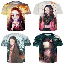 "Men/Women""s Demon Slayer Kimetsu No Yaiba 3D Print Casual T-Shirt Short... - $33.00"