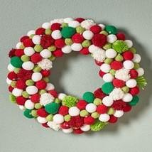 Lighted Pom Pom Wreath - $31.21