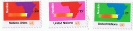 Stamps UN United Nations Namibia 1973 MNH Set Of 3 - $0.94