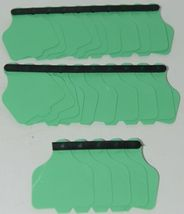 Destron Fearing DuFlex Visual ID Livestock Panel Tags Large Green Blank 25 Sets image 6