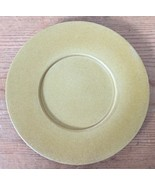 "Vintage Bennington Potters Pottery Elements Gold Small Dessert Saucer Plate 6"" - $24.99"