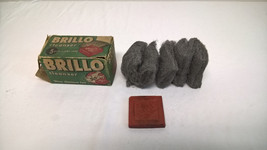 Vintage Brillo Cleanser 5 Pads + Cake Soap - $15.68