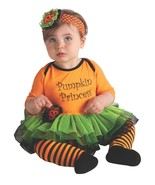 Baby's Pumpkin Princess Halloween Costume 0-6 Months - $20.00