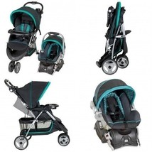 Baby Trend Travel System Boys Girs Stroller Newborns Safety Car Seat w Basket - $215.99